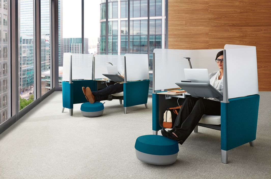 Office Pod This New Workspace Pod Will Help You Focus in Distracting Open-Plan Offices